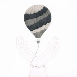 手のひらのシンフォニー気球1m